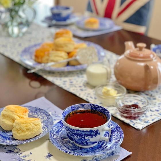 プラムブロッサム紅茶教室・イギリスの家庭のお菓子教室