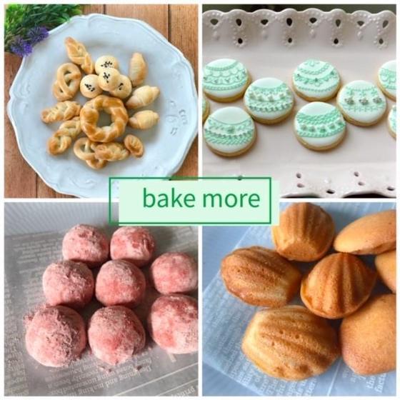 お菓子とパンの教室 bake more
