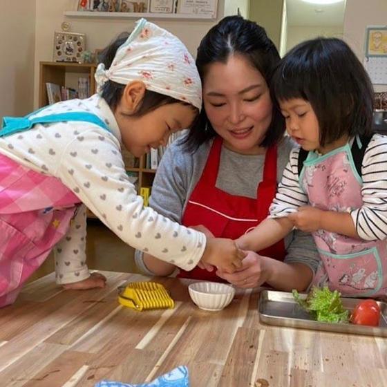 2歳から6歳のこども料理教室ちるくっく