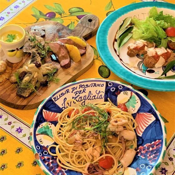 クオーレマーレのイタリア料理教室