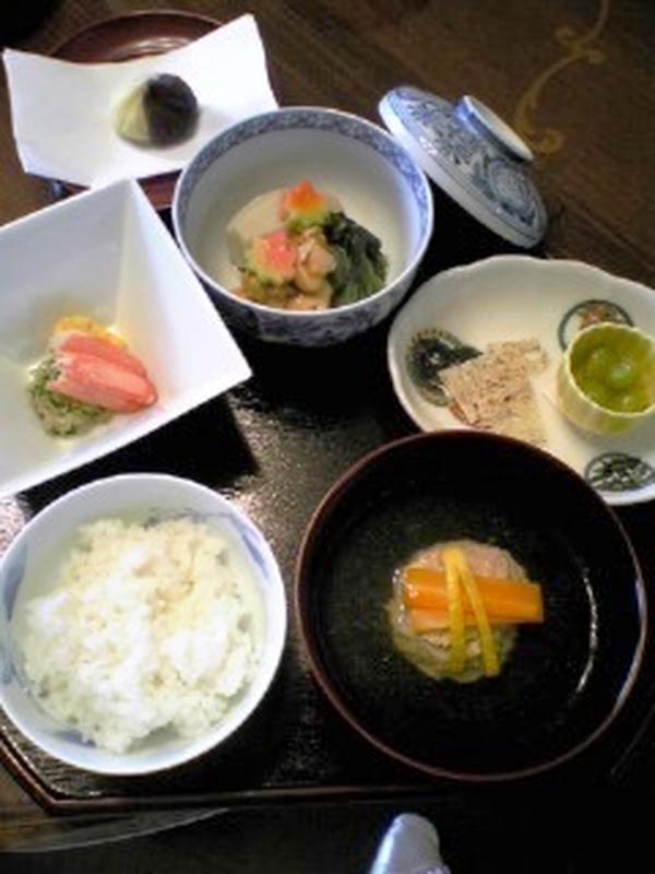 懐石クラス 秋のお料理
