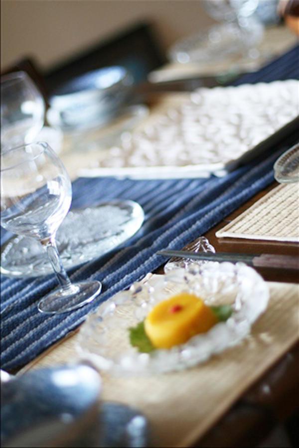 夏の涼を楽しむテーブルコーディネート