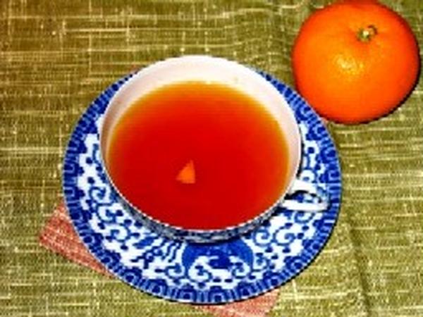 冬はみかんとしょうがでアレンジ「瀬戸内みかん紅茶」