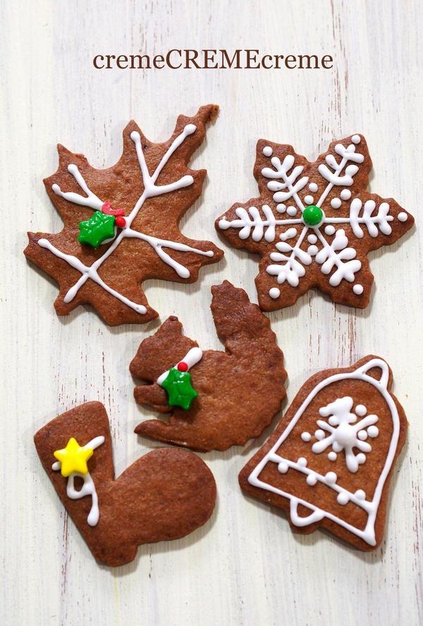 クリスマススパイスクッキー(上級コース)