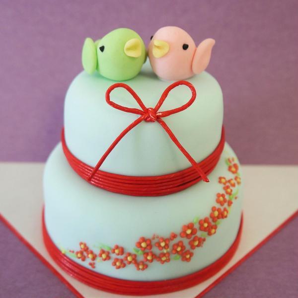 和婚ミニケーキ