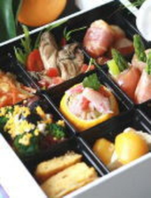 イタリアンの御節料理など、季節のイベントも取り入れています。