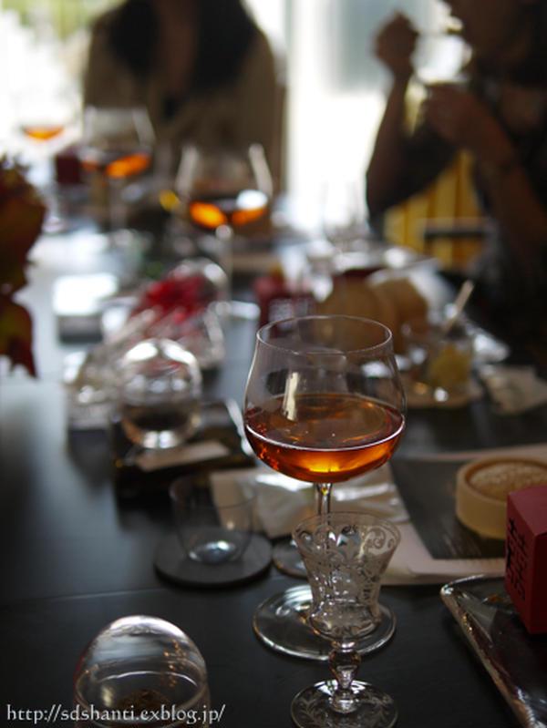 ロブマイヤーグラスで中国茶を楽しむ会
