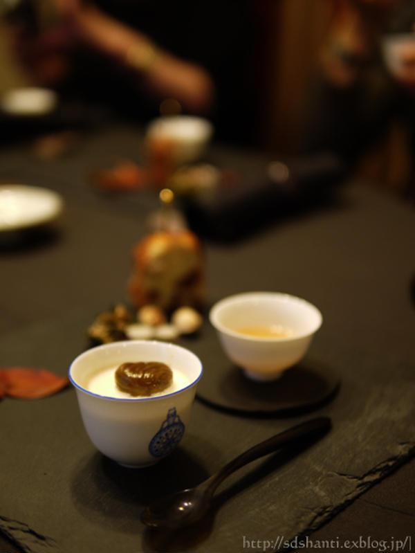 おもてなしの中国茶レッスンは、単欉と秋の味覚のお菓子たち。