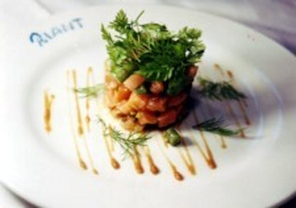 ●教室料理レシピ:サーモンとアボガドのカクテル