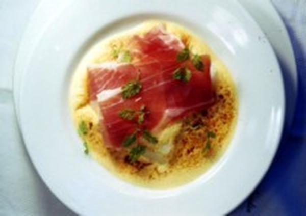 ●教室料理レシピ:生ハムと温野菜のグラチネ