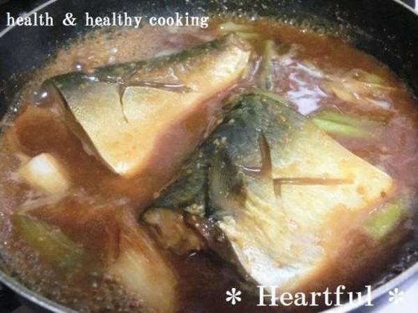 大人気! サバの味噌煮(^^♪