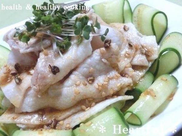 夏の中華料理~雲白肉(ウンパイロウ)