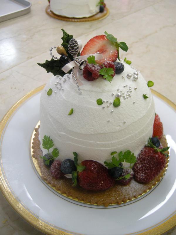 カワイイのクリスマスケーキもスペシャル!