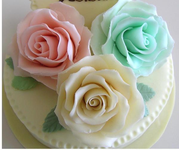 プラチョコの薔薇(カラー)
