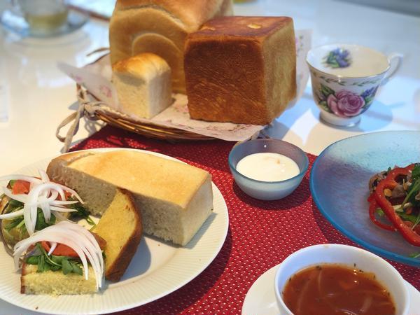 食パンは買わずに🍞安心安全は、自身の手から!