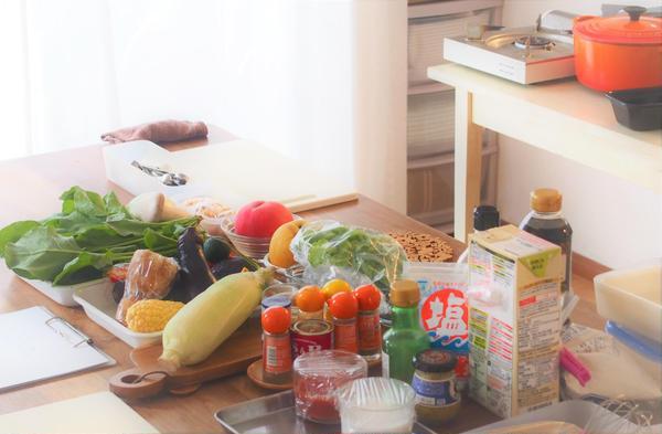 野菜たっぷりおもてなしごはんレッスン 少人数で開催中です。
