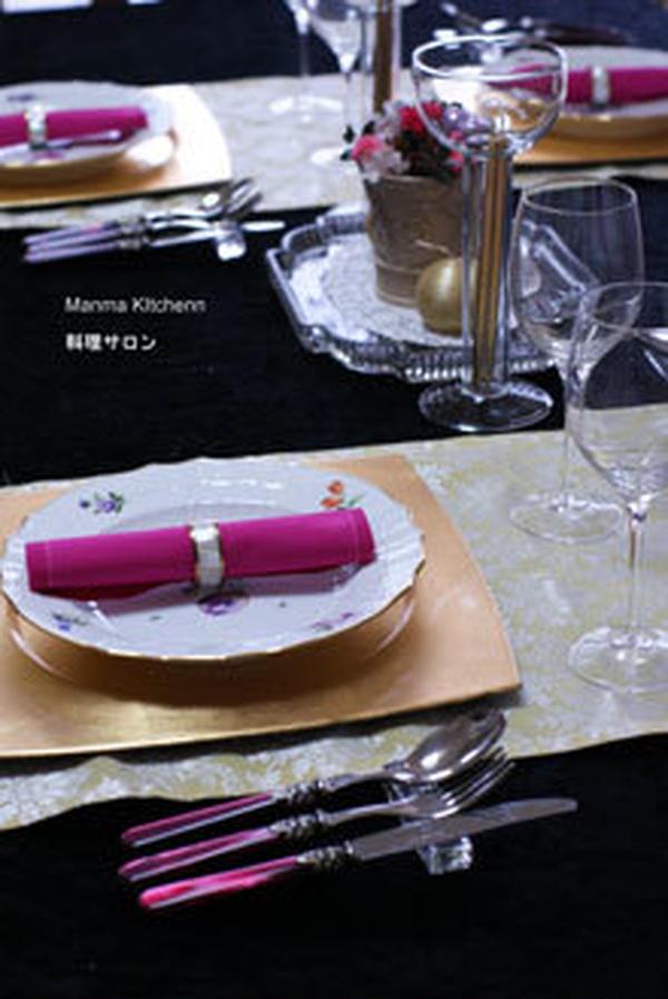 2011年12月 クリスマス料理サロン予定