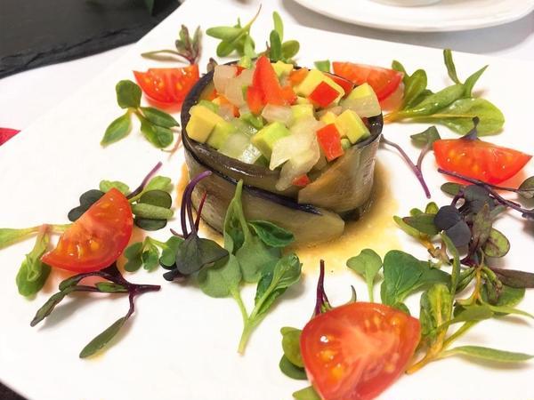 茄子のサラダ
