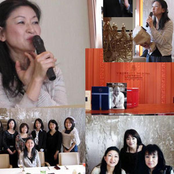 2010年12月大森由紀子先生を迎えXmas会。