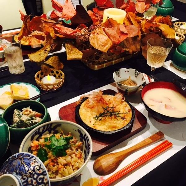 秋の和食の会