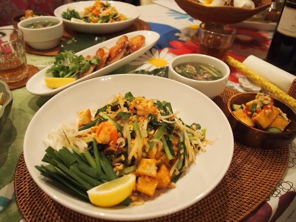 夏はアジアン料理レッスン。