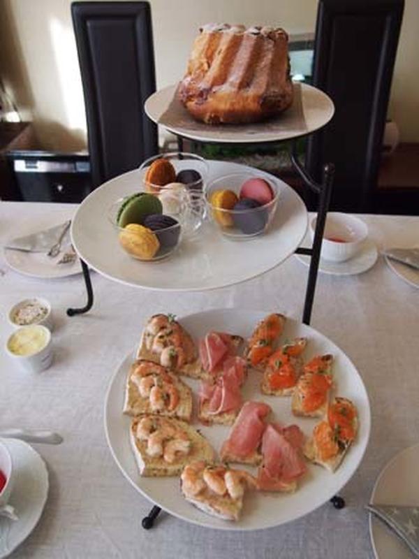 天然酵母のパンやお菓子のご紹介とアフタヌーンティー