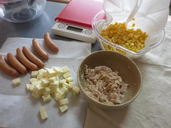 お好きな具材で手作りパン