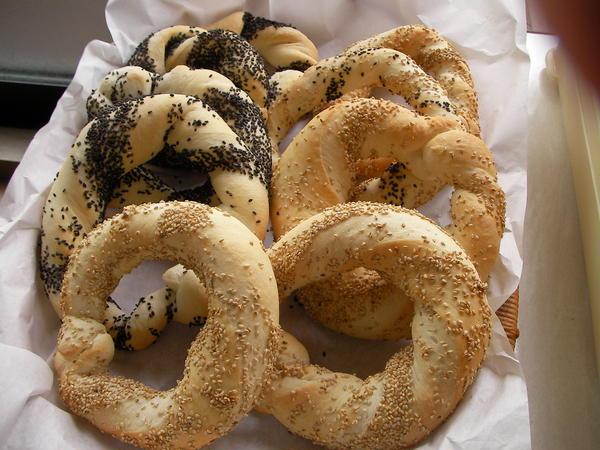 トルコで味わったパン・シミット