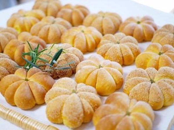 カボチャのパン「パン&お菓子レッスン」