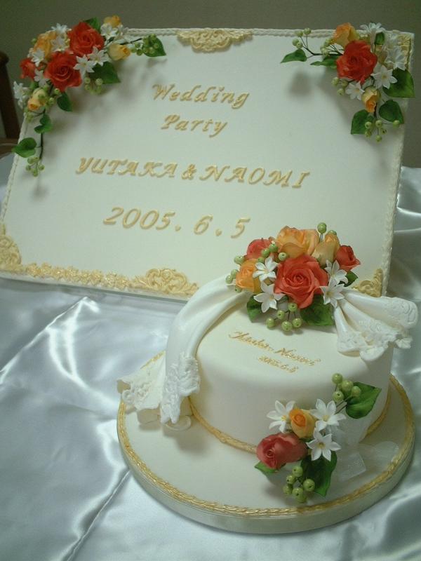 ウェディングケーキなどの手作りもお手伝いいたします!