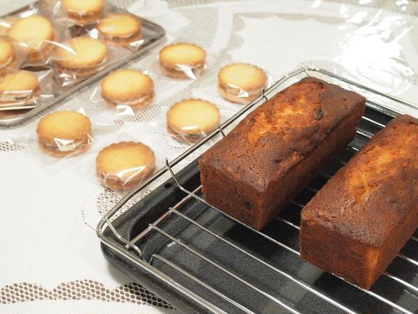 作ったお菓子はすべてお持ち帰り頂きます。