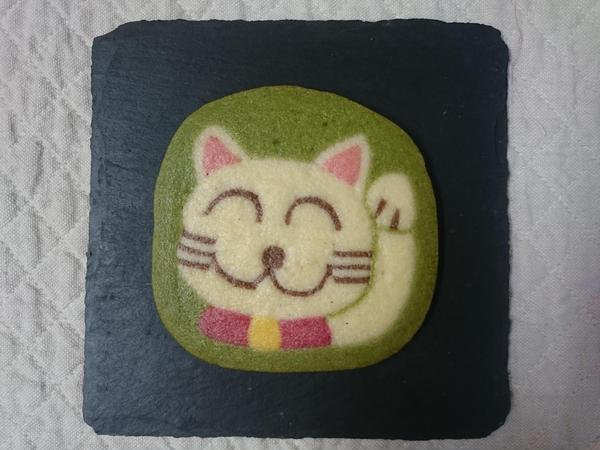 アイスボックスクッキー オリジナル 招き猫