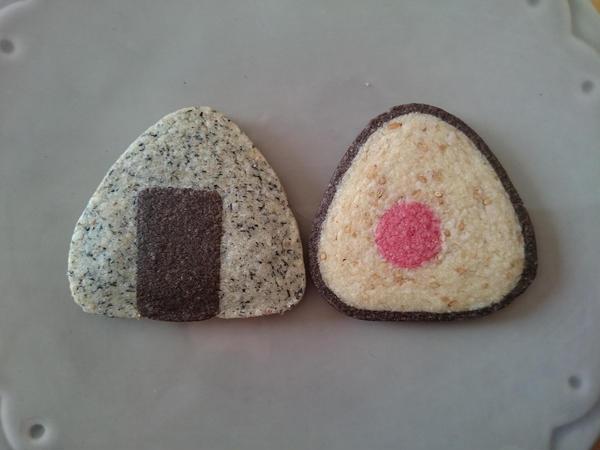 アイスボックスクッキー オリジナル おむすび