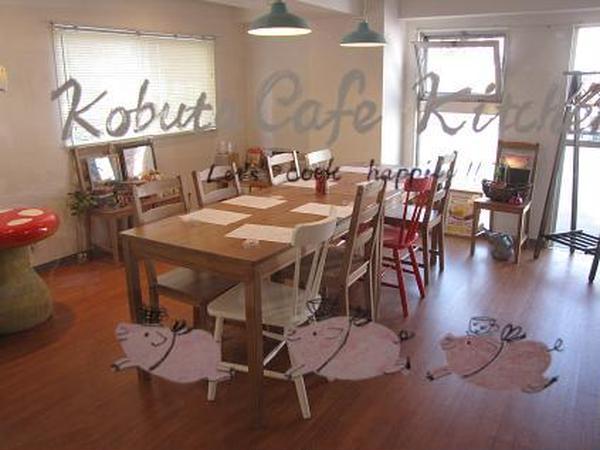 会場はカフェ風のインテリアで可愛いスタジオです