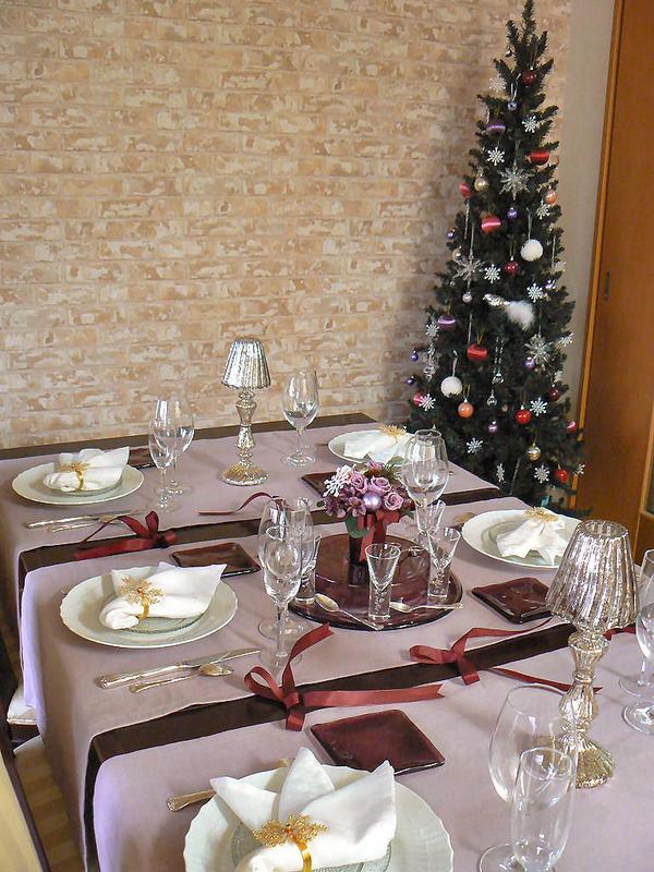 2011年11月『聖夜の煌き~パープルクリスマステーブル~』