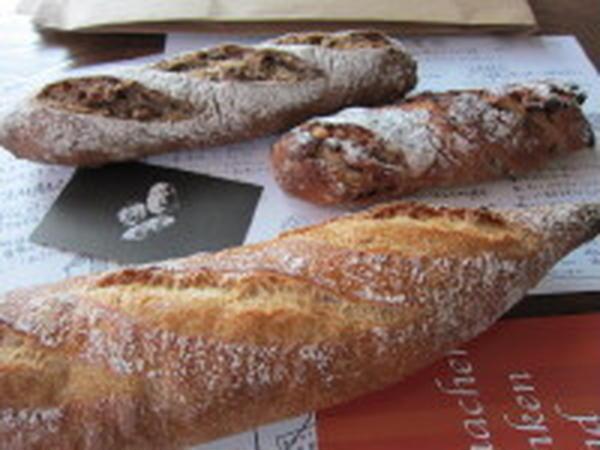 フランスパンとセーグルフリュイ