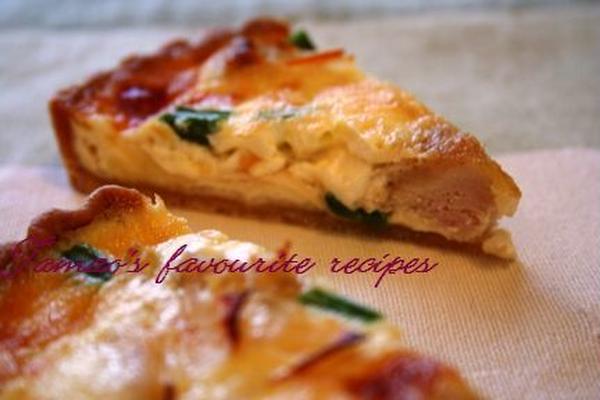 フランスのキッシュ。おもてなし料理として。
