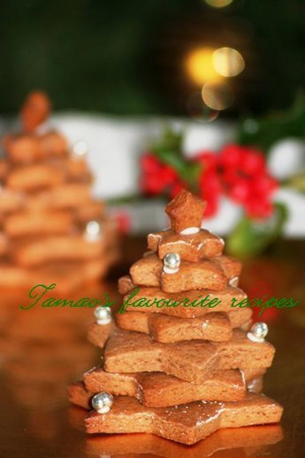 クリスマスのレープクーヘン。