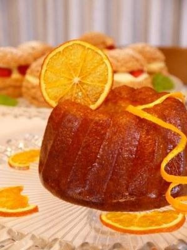 """2017年3月レッスン"""" オレンジのケーキ"""""""