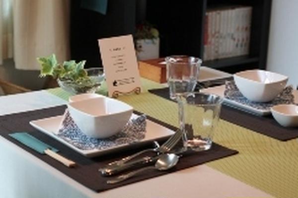調理に慣れたら、テーブルコーディネートもお楽しみください。