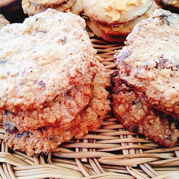 オートミールとクランベリーのクッキー