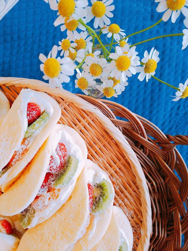 ふわふわオムレツケーキ大人気です☀️1dayお菓子開催中