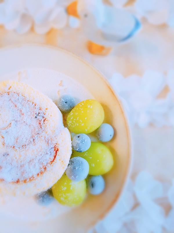 サマーレッスンレシピ★米粉のシフォンロールケーキ