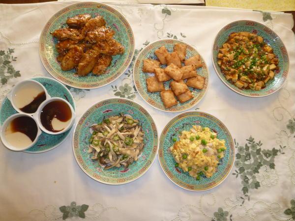 中華料理のおもてなし.
