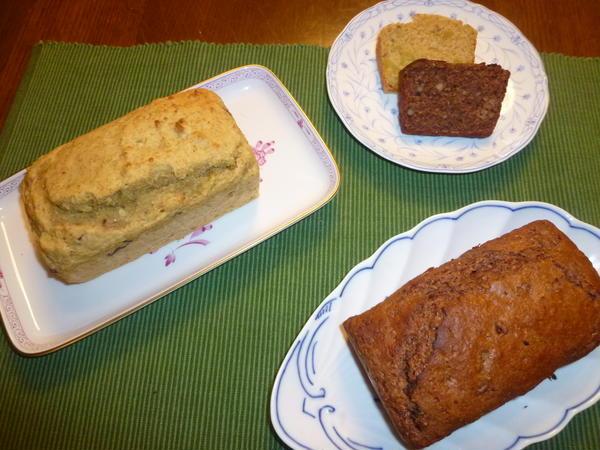 卵もお砂糖もバターも使わない野菜のケーキ2種