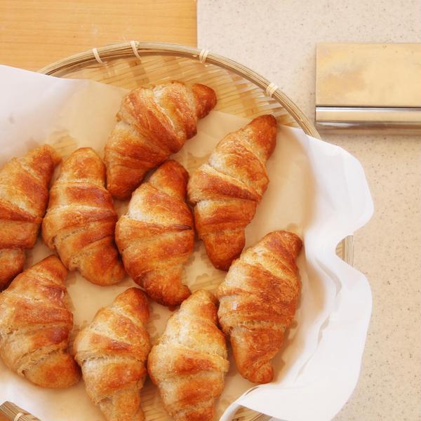 (特別レッスン)発酵バターのクロワッサン