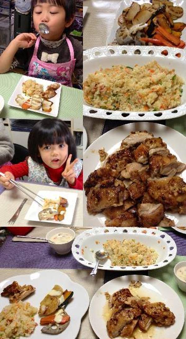 お子様同伴の料理講習