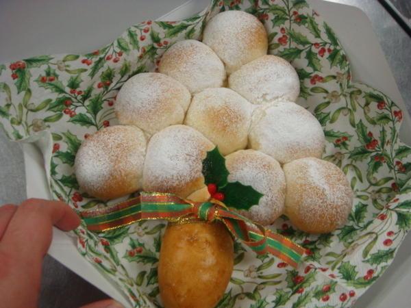 クリスマスツリーパン☆中身はなんと10種類!