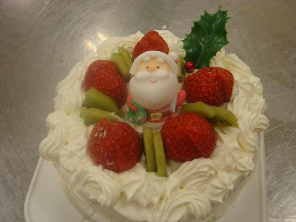 12月はクリスマスケーキの講習もします。