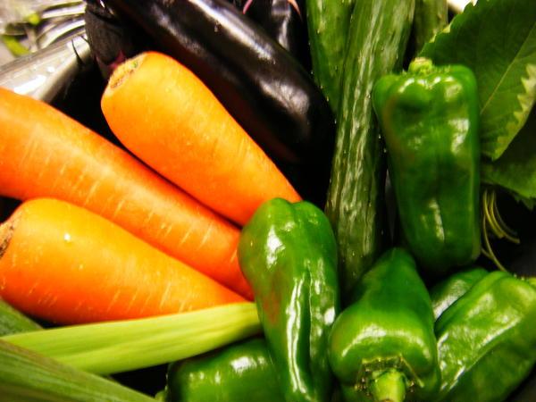 野菜は出来るだけ産地から
